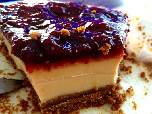 triple cheesecake