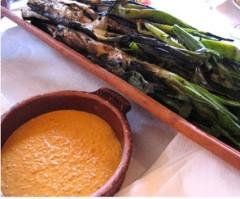 Calçots-Salsa omesco
