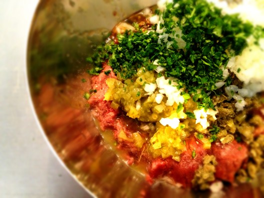 Steak tartare Preparación