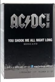 caja de Moscato You shook me all night long