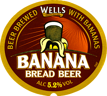 Etiqueta Wells Banana Bread Beer