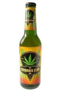 Cerveza producida con cannabis