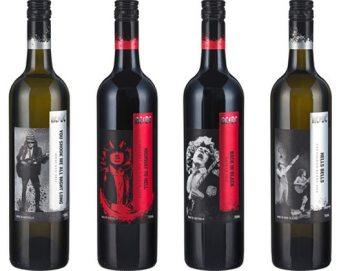 Cuarteto de vinos de ACDC