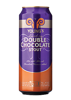 Youngs Double Chocolate en lata