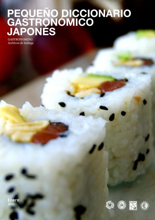 Diccionario gastronómico japonés gastronoming