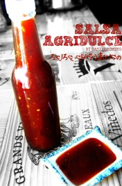 salsa agridulce