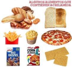 alimentos con acrilamida
