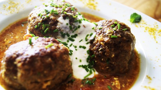 kofta-albóndigas curry