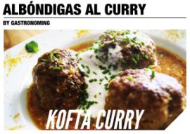 Kofta-albóndigas curry