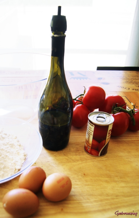 pasta fresca de tomate