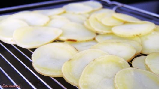 Patatas con queso