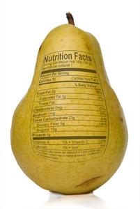 etiqueta pera