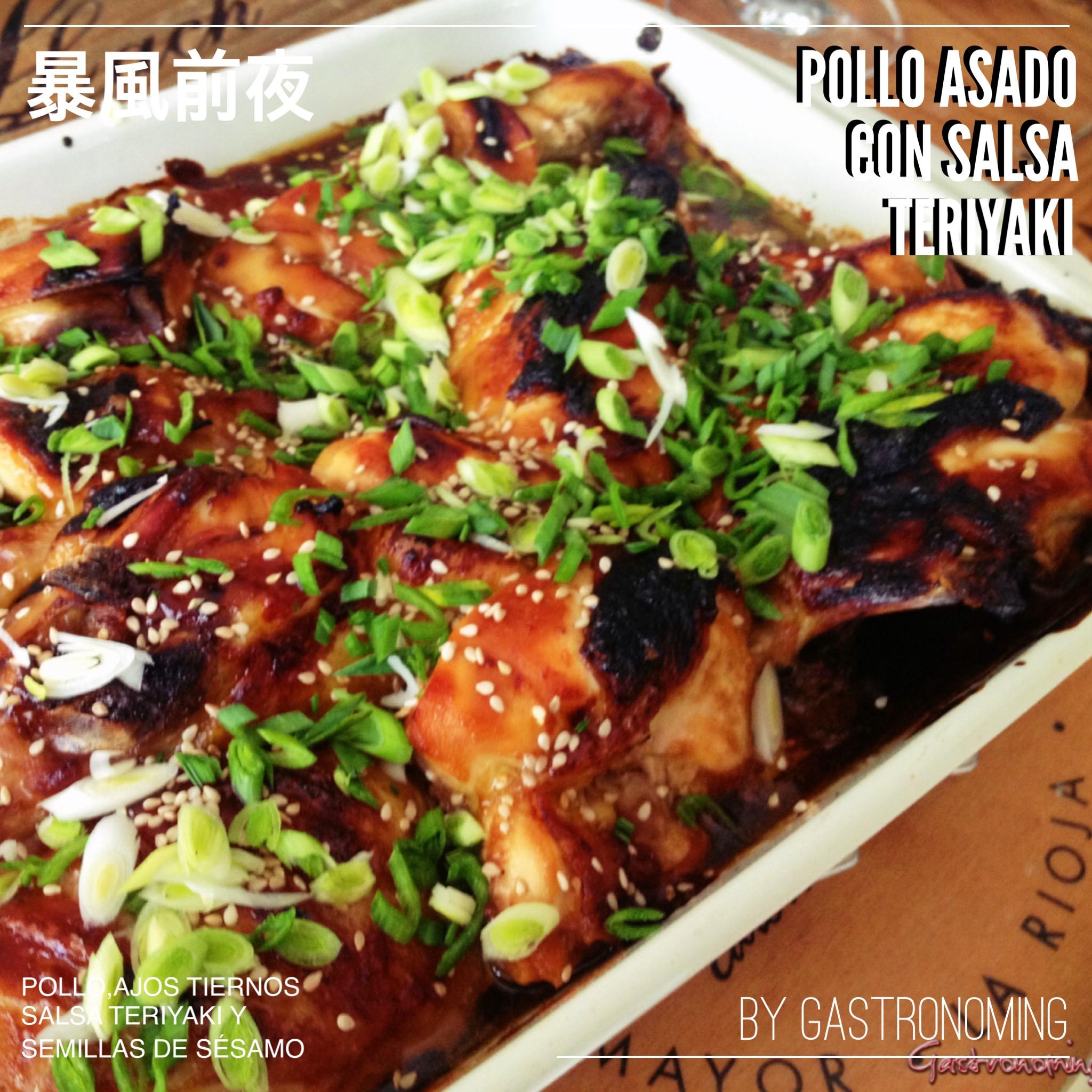 Pollo asado con salsa teriyaki gastronoming - Salsa para pollos asados ...